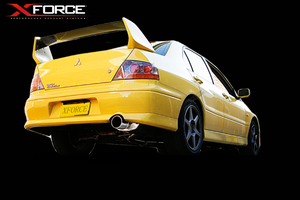 XFORCE PERFORMANCE MITSUBISHI LANCER EVO 7.8.9 CAT-BACK EXHAUST SYSTEM