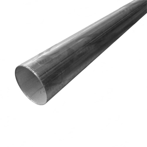 Exhaust Tube - Aluminised Steel, Outside diameter 57mm(2-1/4
