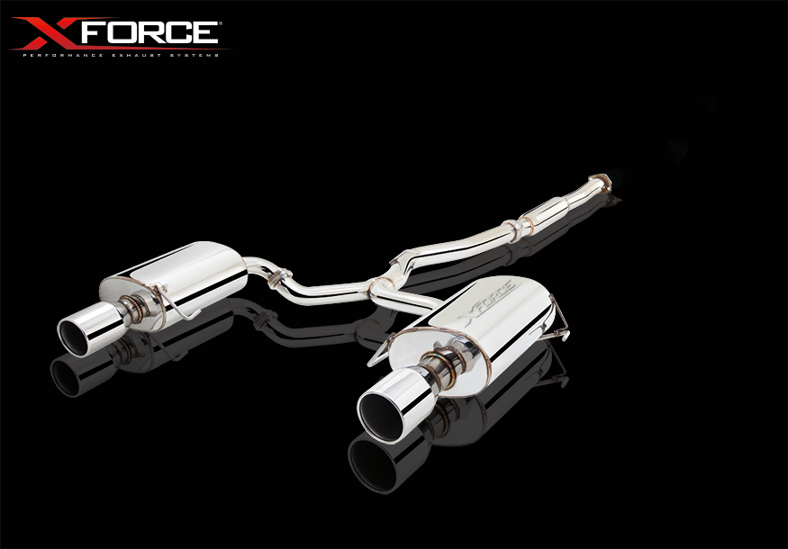 XFORCE PERFORMANCE BOLT-ON EXHAUST SYSTEMS FOR LIBERTY GEN 4 GT 2006-09