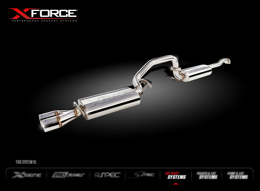 XForce Performance Stainless Steel to suit Ford Falcon Sedan (01/2002 - 01/2008)