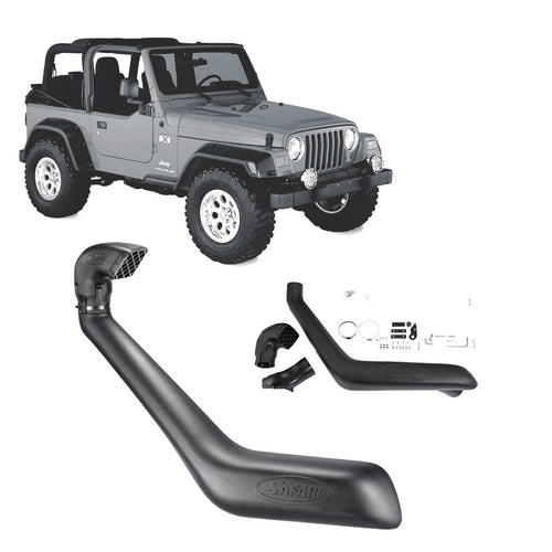 Safari Snorkel to suit Jeep Wrangler (10/1996 - 04/2007)