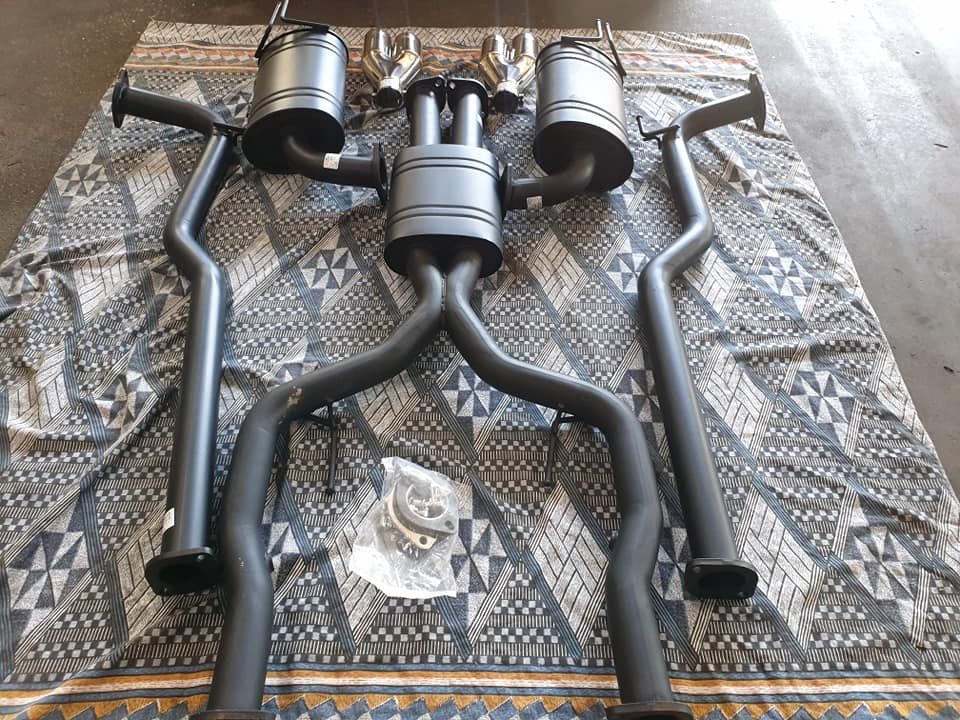 XForce Performance Exhausts System to suit Holden VE-VF Sedan.