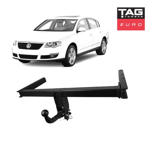 TAG Euro Towbar with European Style Tongue to suit Volkswagen Passat (08/2010 - on)