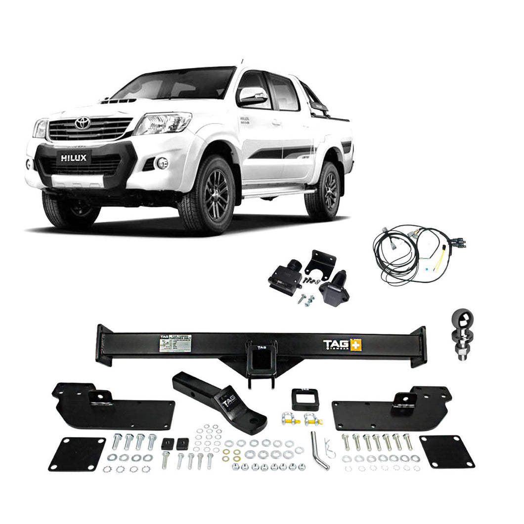TAG+ Towbar to suit Toyota Hilux with Extended Tray (08/2008 - 09/2015)