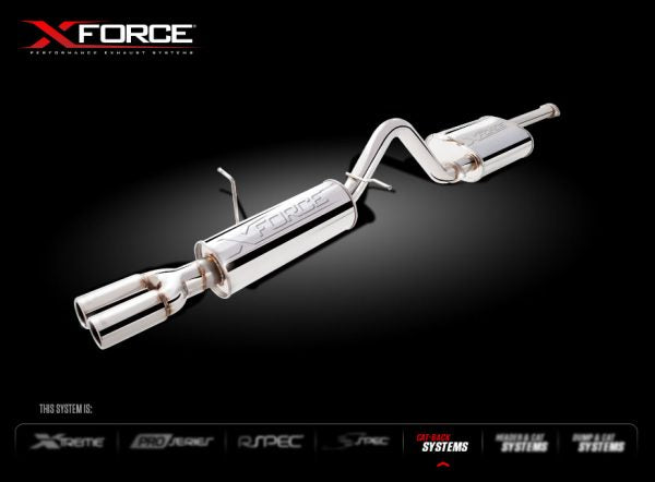 XForce Performance Stainless Steel to suit Ford Falcon (01/2002 - 01/2008)