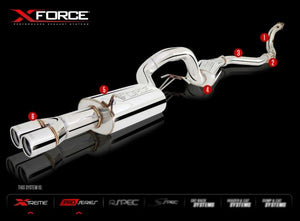 BOLT-ON EXHAUST SYSTEMS FOR FORD FG/FGX XR6 TURBO SEDAN 2008+