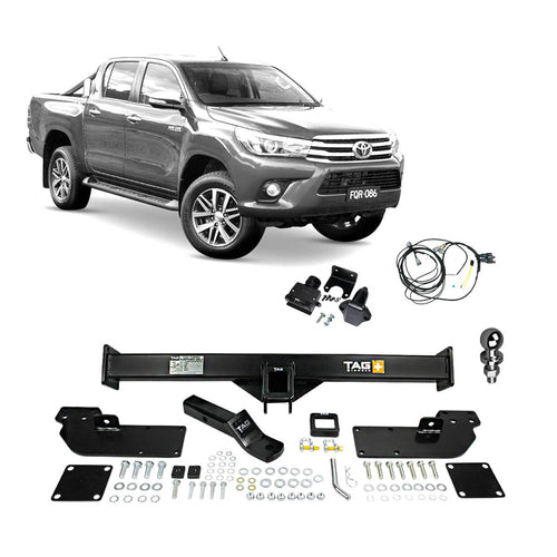 TAG+ Towbar to suit Toyota Hilux with Extended Tray (10/2015 - on)