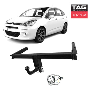 TAG Euro Towbar to suit Citroen C3 (11/10 - 07/2017)