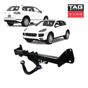 TAG Euro Towbar with European Style Tongue to suit Porsche Cayenne & Volkswagen Touareg