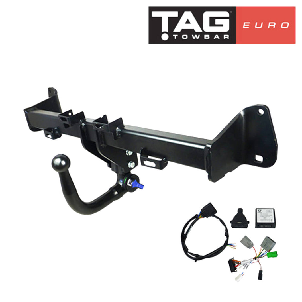 TAG Euro Towbar for some Mini models. For vehicle information refer to photos attached.