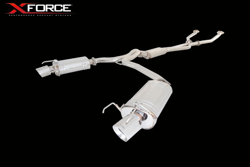 XForce Performance Stainless Steel to suit Lexus IS (09/2010 - 06/2013)