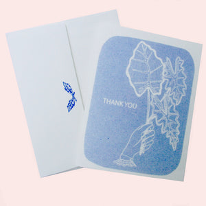 """Leaves Thank You"" Card"