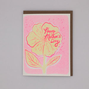 Happy Mother's Day! - Yellow Flower Card