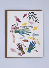 Happy Birthday - Hands and Branches  Card
