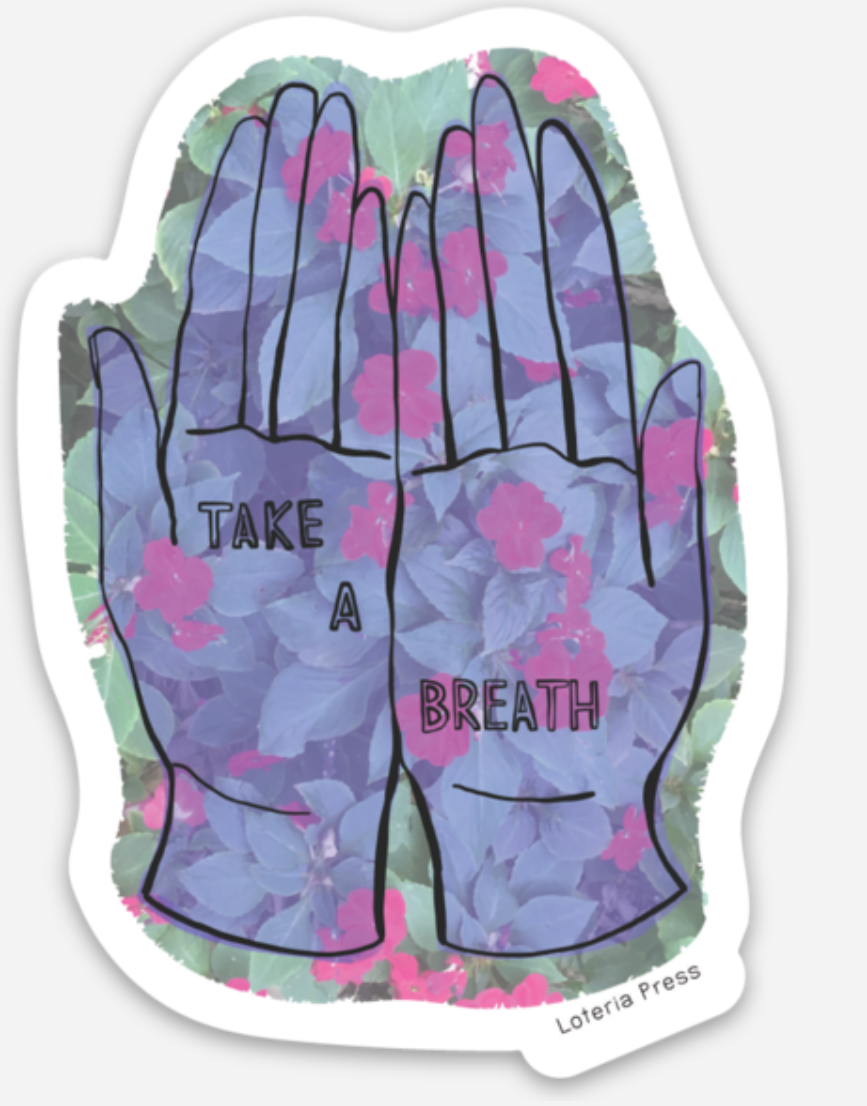 Take a Break Sticker