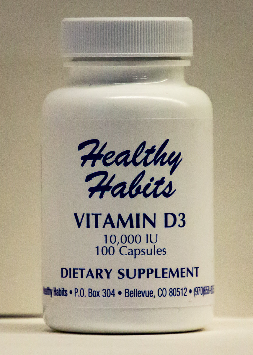 Vitamin D 10,000 iu 100 caps