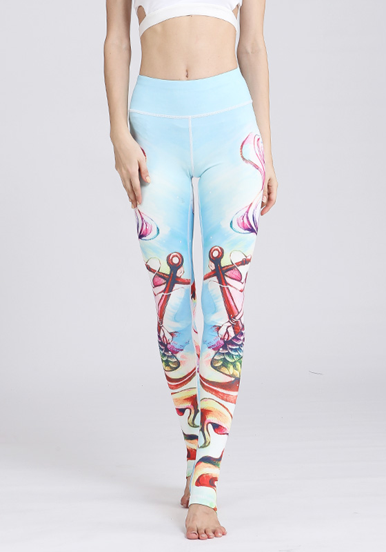 Floral Quick Dry Yoga Pants