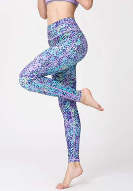 Floral High Waist Yoga Pants
