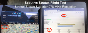 Stratux ADS-B Dual Band Receiver Aviation Weather and Traffic - AHRS, Battery Pack, Suction Mount, Internal WAAS GPS, Antennas, SDR, Case with Fan-Crew Dog Electronics