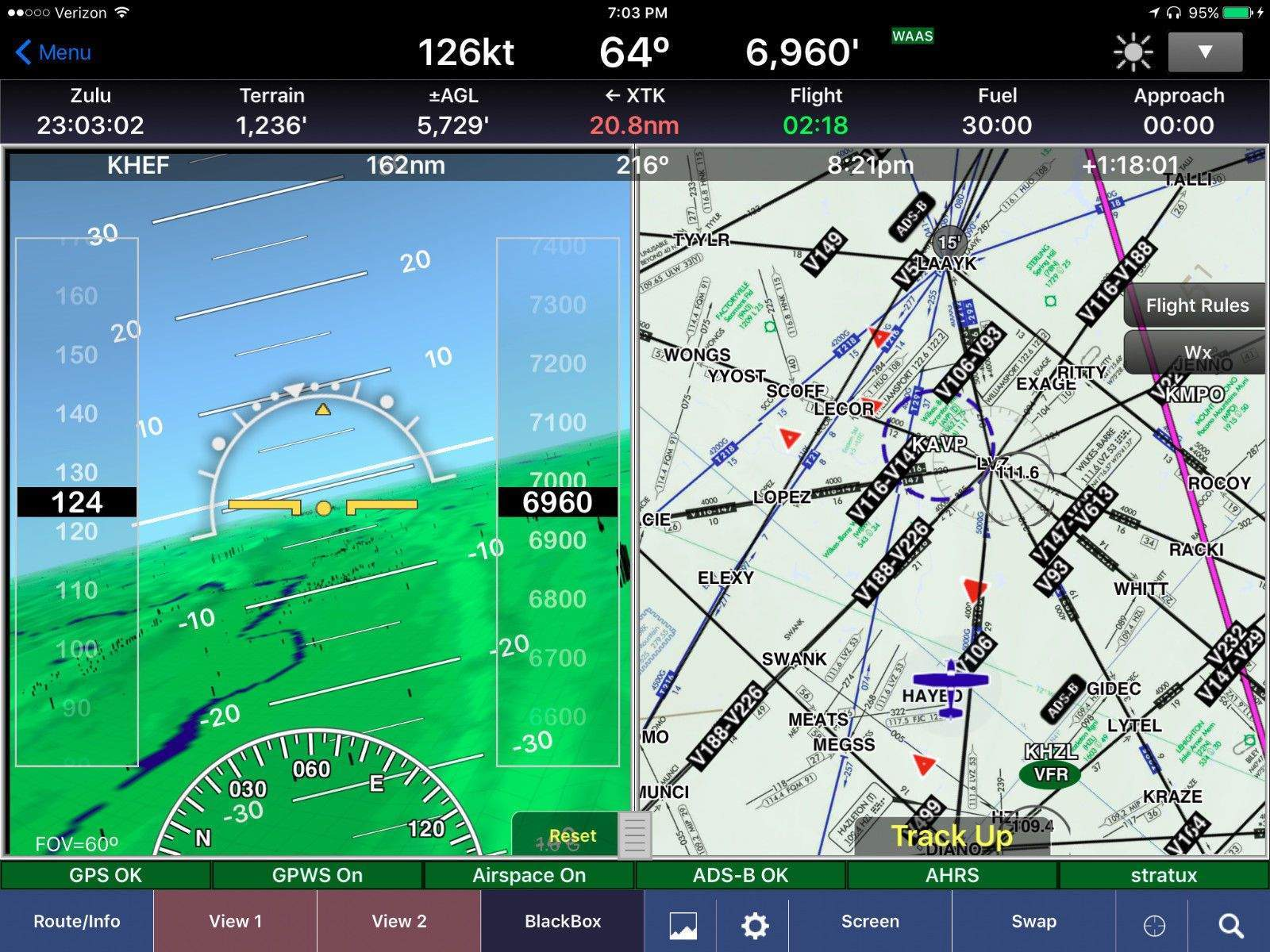 Stratux ADS-B Dual Band Aviation Receiver Kit - AHRS, GPS, and Case