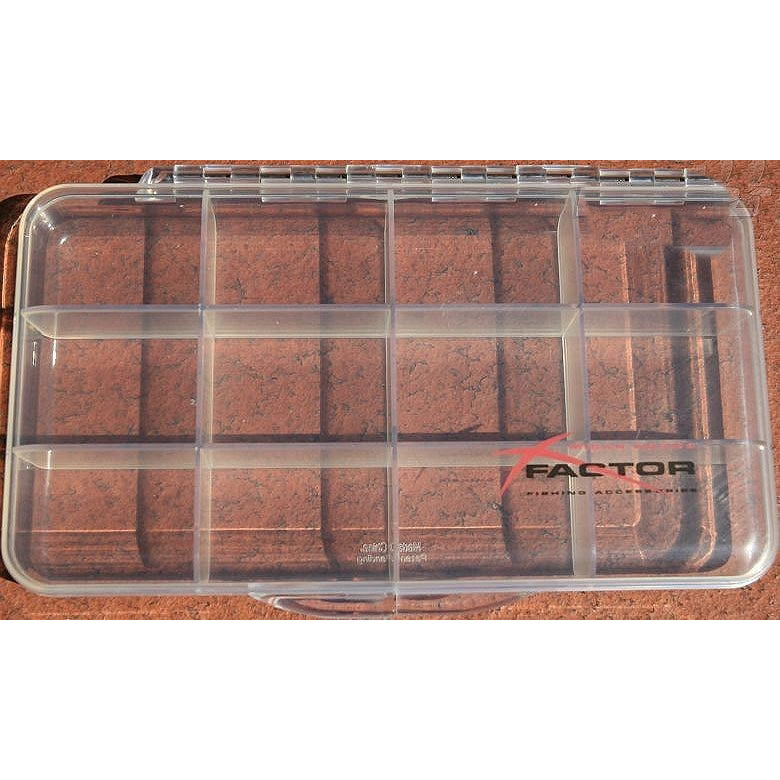 X Factor Dry Fly Box 12 Compartments