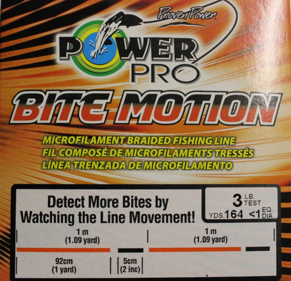 Power Pro Bite Motion Braid 164 yards