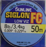 Siglon Fluorocarbon Leader Material 50 metre
