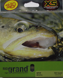 RIO Grand Fly Line  colour Camo/tan
