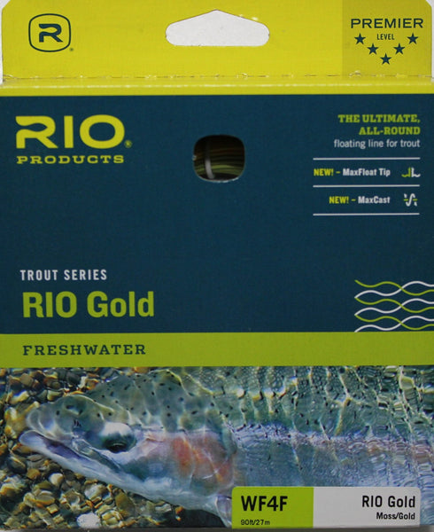 RIO Gold Fly Line Colour Moss/Gold