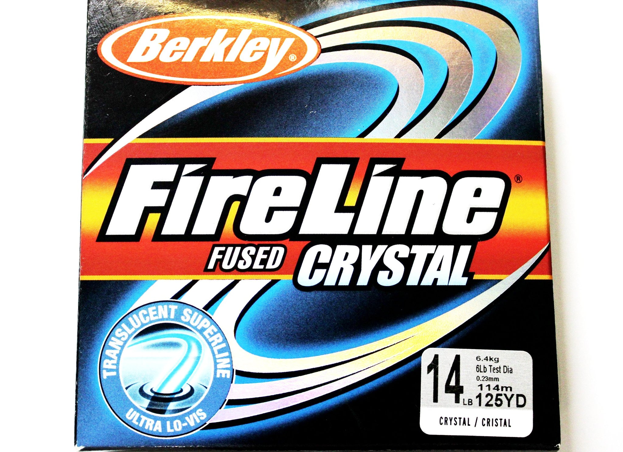 Berkley FireLine Fused Original colour Crystal 125yd