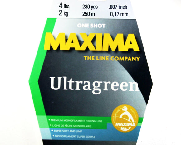 Maxima Ultragreen One Shot Fishing Line