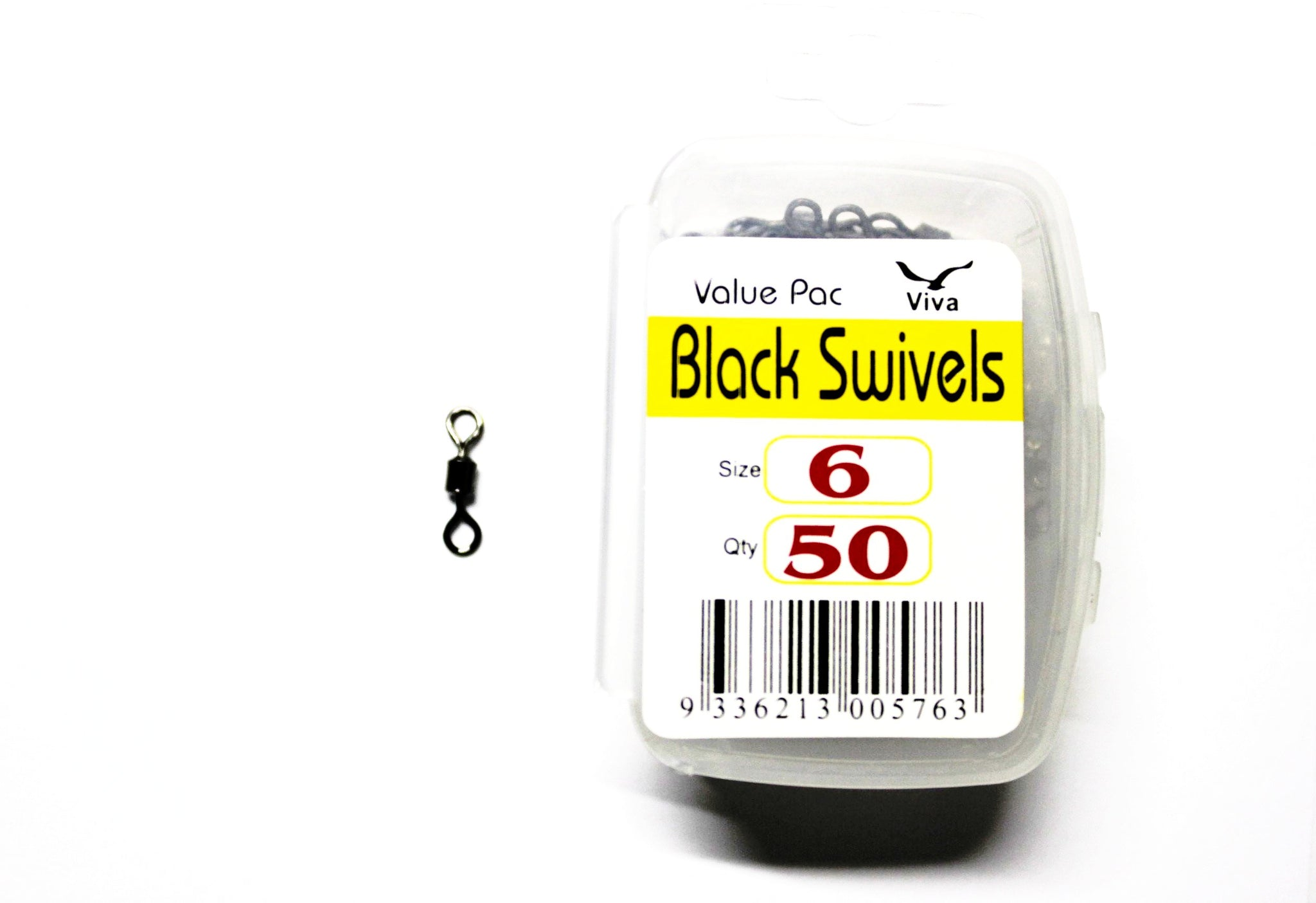 Viva Tackle Value Pack Black Swivels