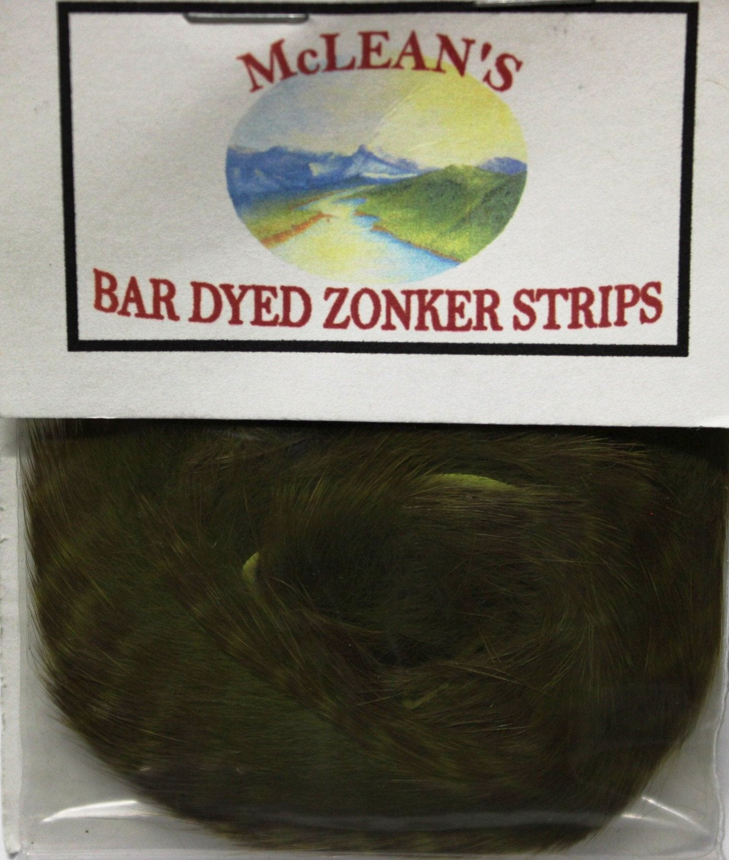 McLean's Bar Dyed Zonker Strips 4mm