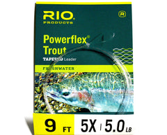 RIO Trout Tapered Leader 9 feet