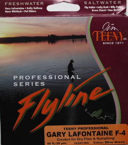 Teeny Professional Gary LaFontaine Fly Line Colour Olive Green