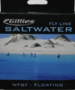 Gillies Saltwater Fly Line WF8F
