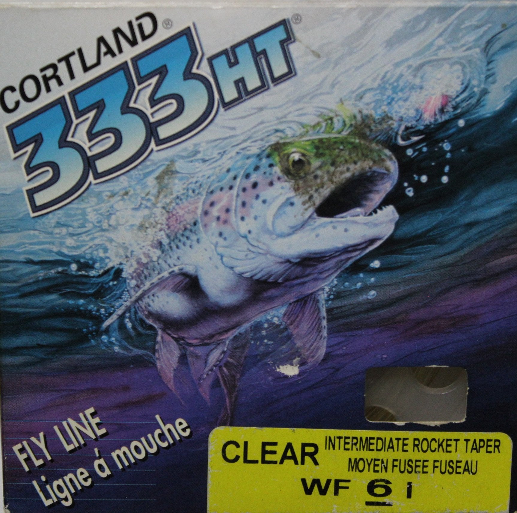 CLEARANCE - Cortland 333HT Fly Line WF6I colour Clear