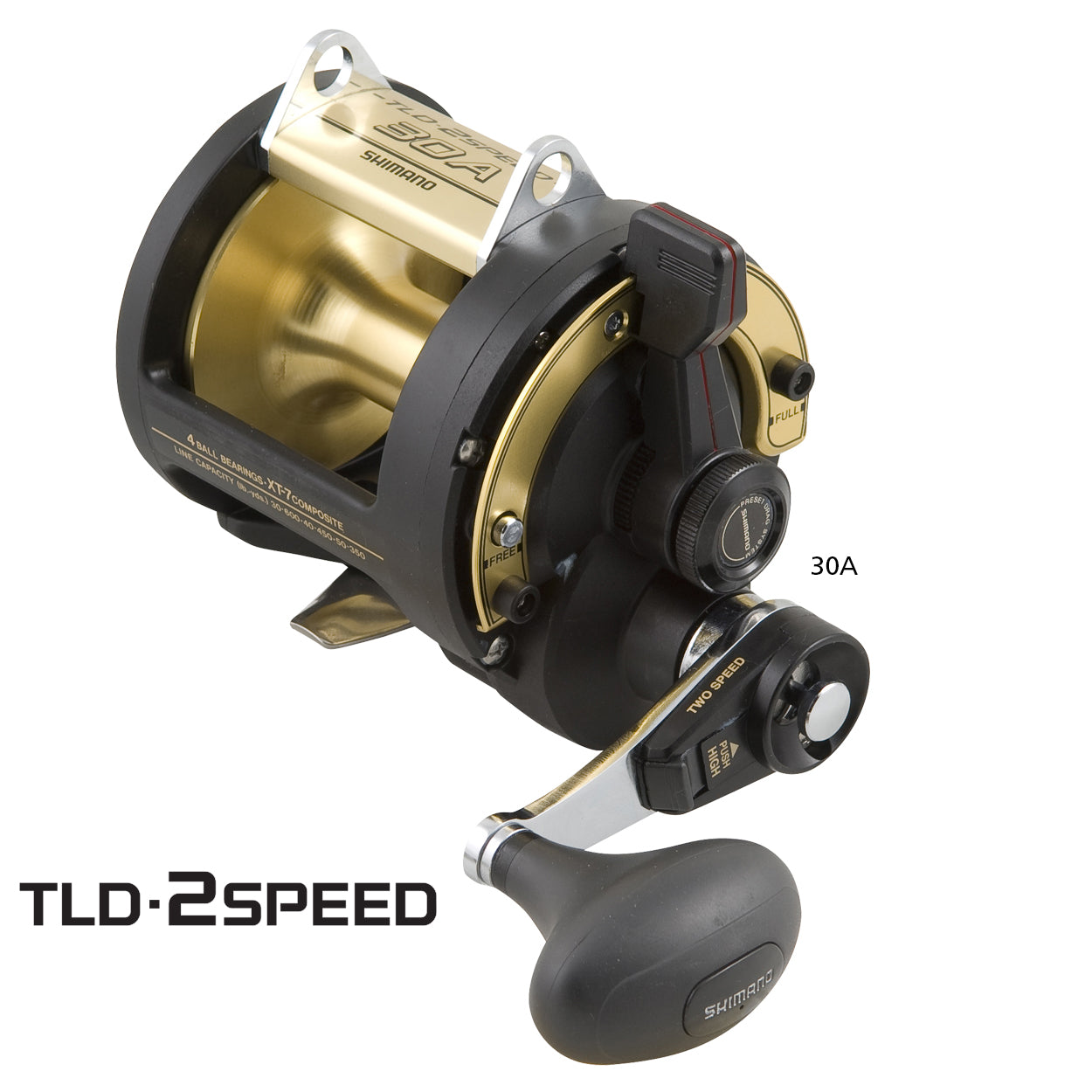 Shimano TLD 2 Speed Game Reel