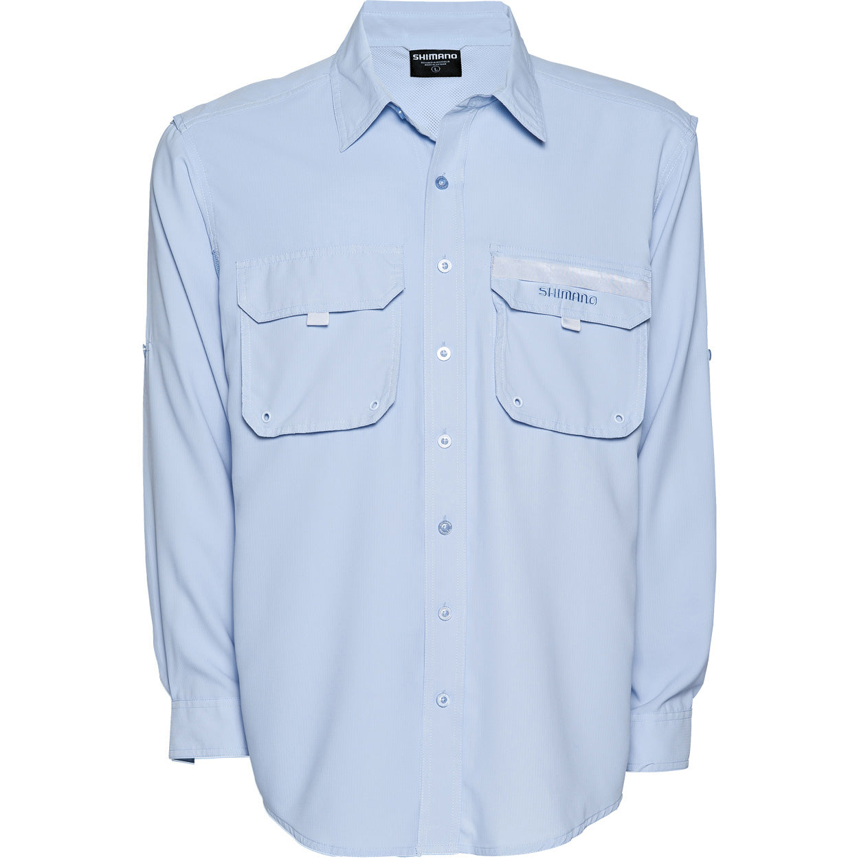 Shimano Vented Shirt Skyway Blue