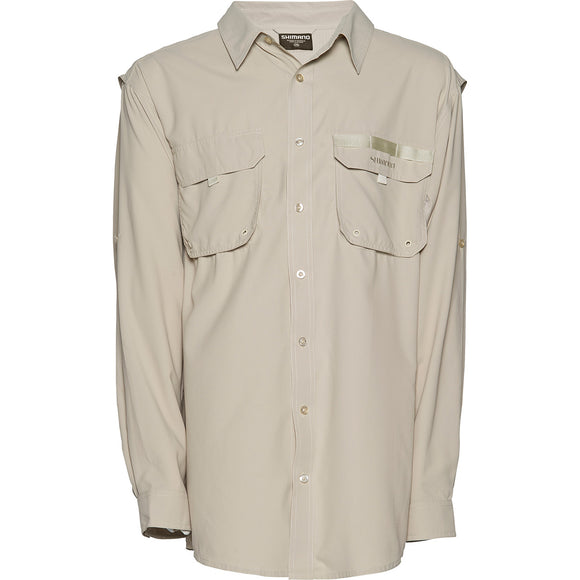 G Loomis Tego Vented Shirt Light Grey size XXXL