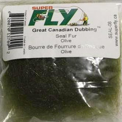 SuperFLY Great Canadian Dubbing Seal Fur