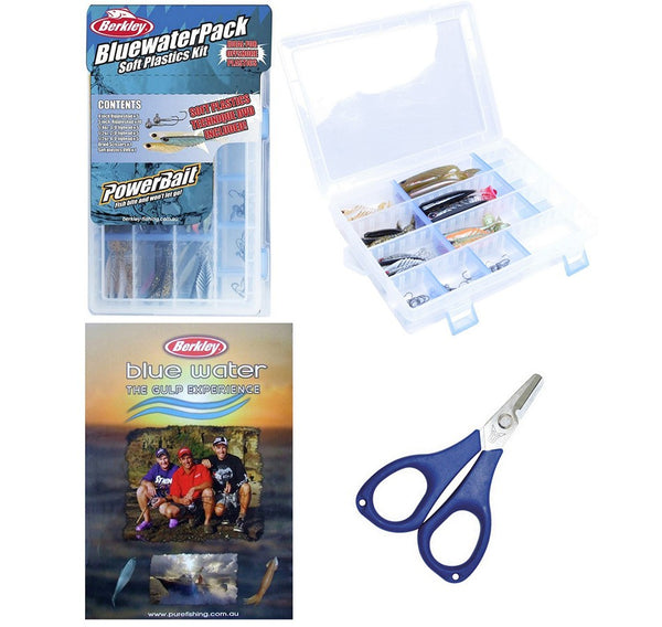 Berkley BluewaterPack Soft Plastics Kit