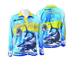 Team Wilson Live Fibre Fishing Shirt Long Sleeved UPF25+ size 3XL