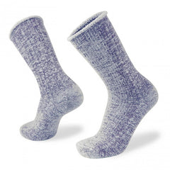 Wilderness Wear Merino Fleece Socks Navy Marle