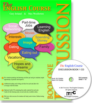 The English Course - Discussion Book 1: Student's Book and CD Set