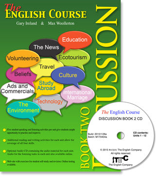 The English Course - Discussion Book 2: Student's Book and CD Set