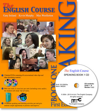 The English Course - Speaking Book 1: Student's Book and Audio CD Set (Teacher's Copy)