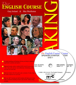 The English Course - Speaking Starter: Student's Book and DVD Set
