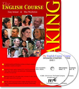The English Course - Speaking Starter: Student's Book and DVD Set (Teacher's Copy)