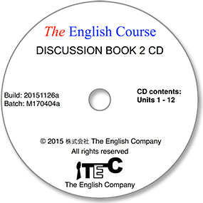 The English Course - Discussion Book 2: Audio CD